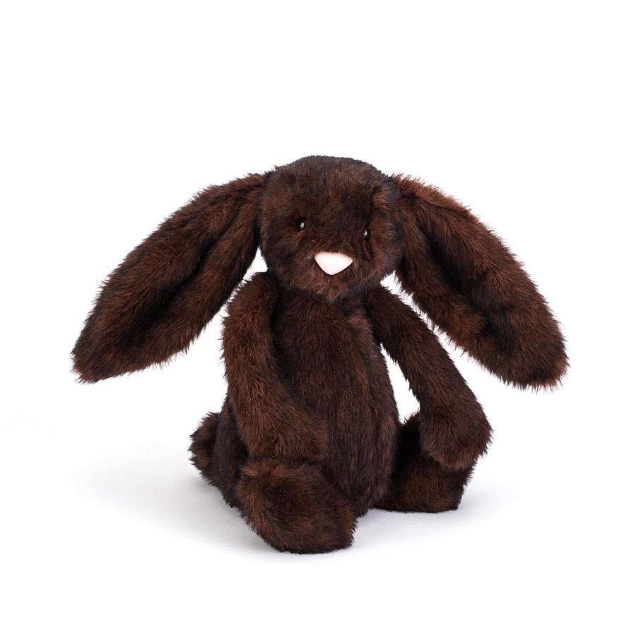 Conill marró fosc hivern